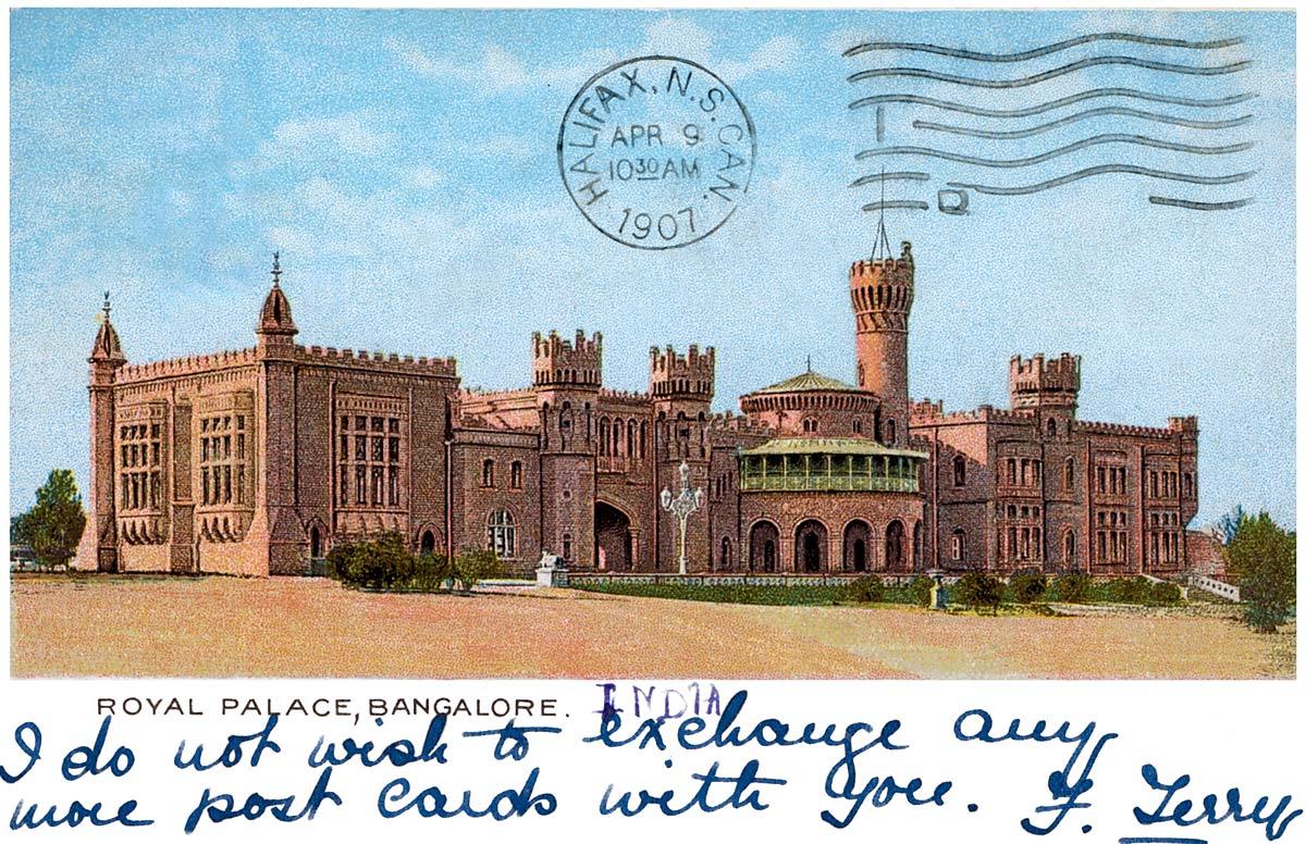 Royal Palace, Bangalore.