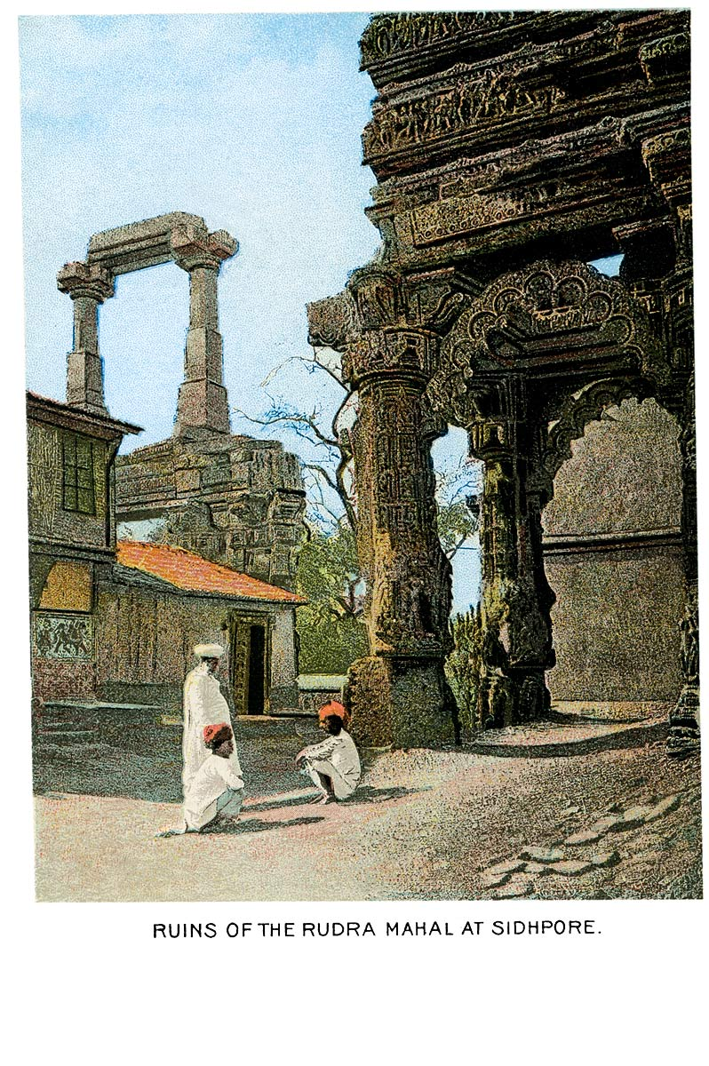 Ruins of the Rudra Mahal at Sidhpore