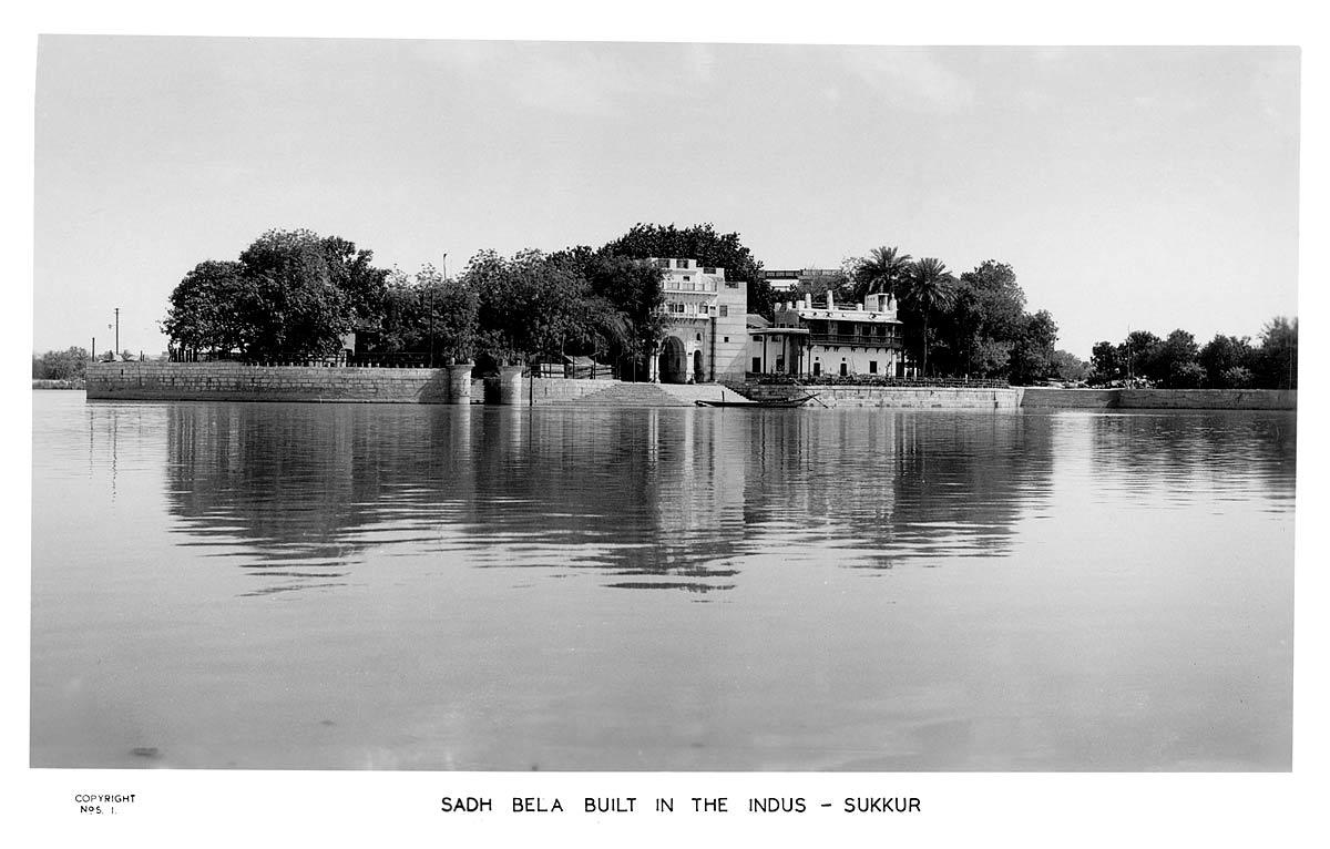 Sadh Bela Built in the Indus - Sukkur