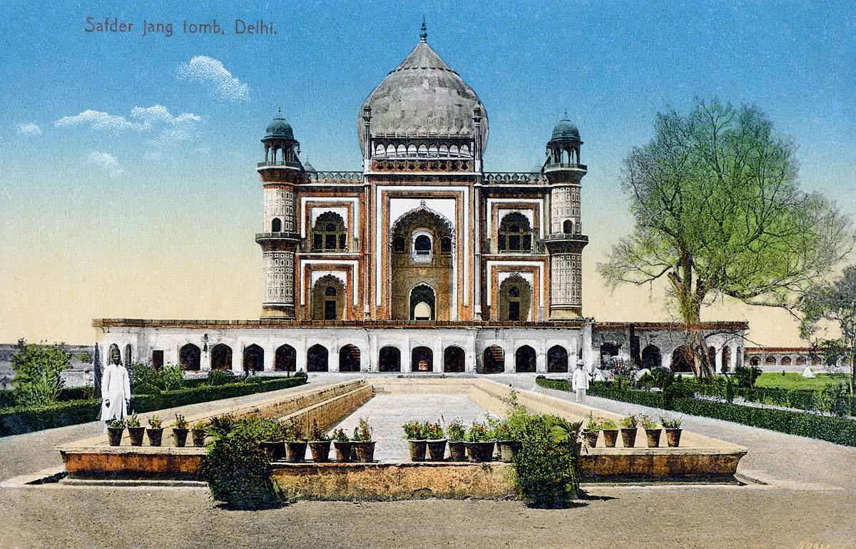 Safder Jang Tomb. Delhi.