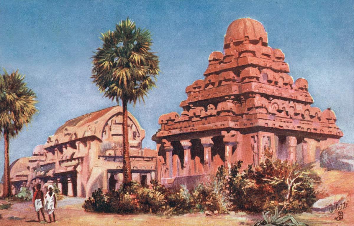 Madras Seven Pagodas