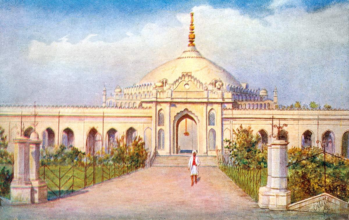 Shah Najaf Mosque, Lucknow.
