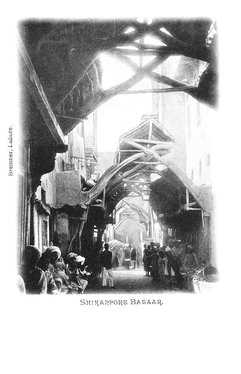 Shikarpore Bazaar