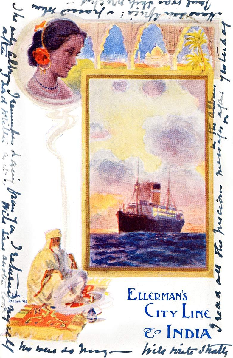 Ellerman's City Line to India