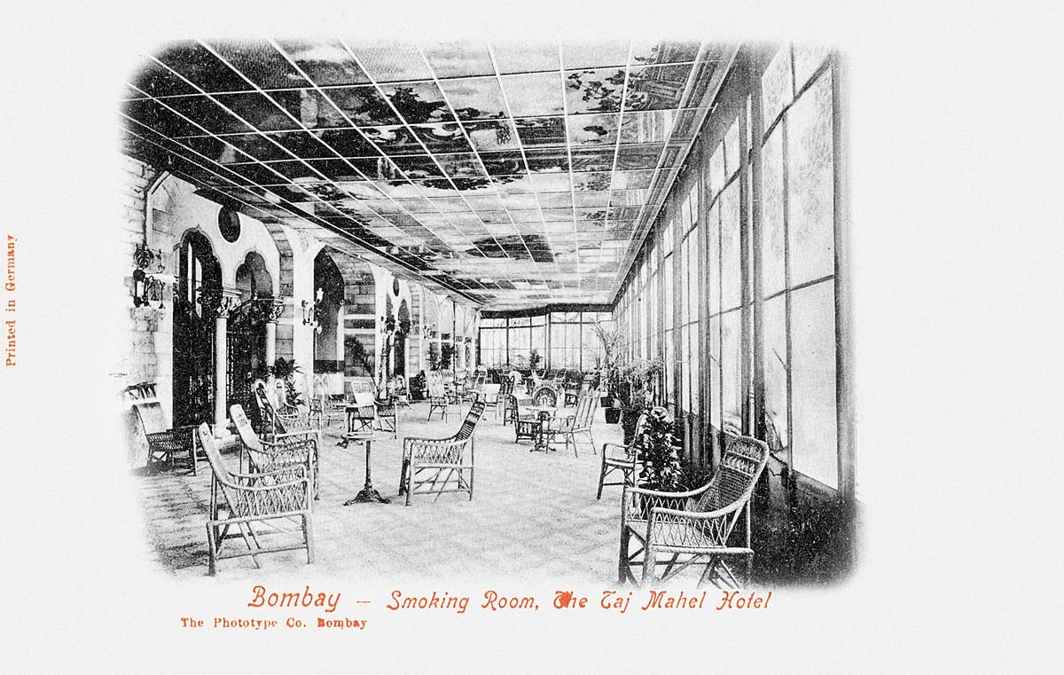 Bombay - Smoking Room, The Taj Mahal Hotel
