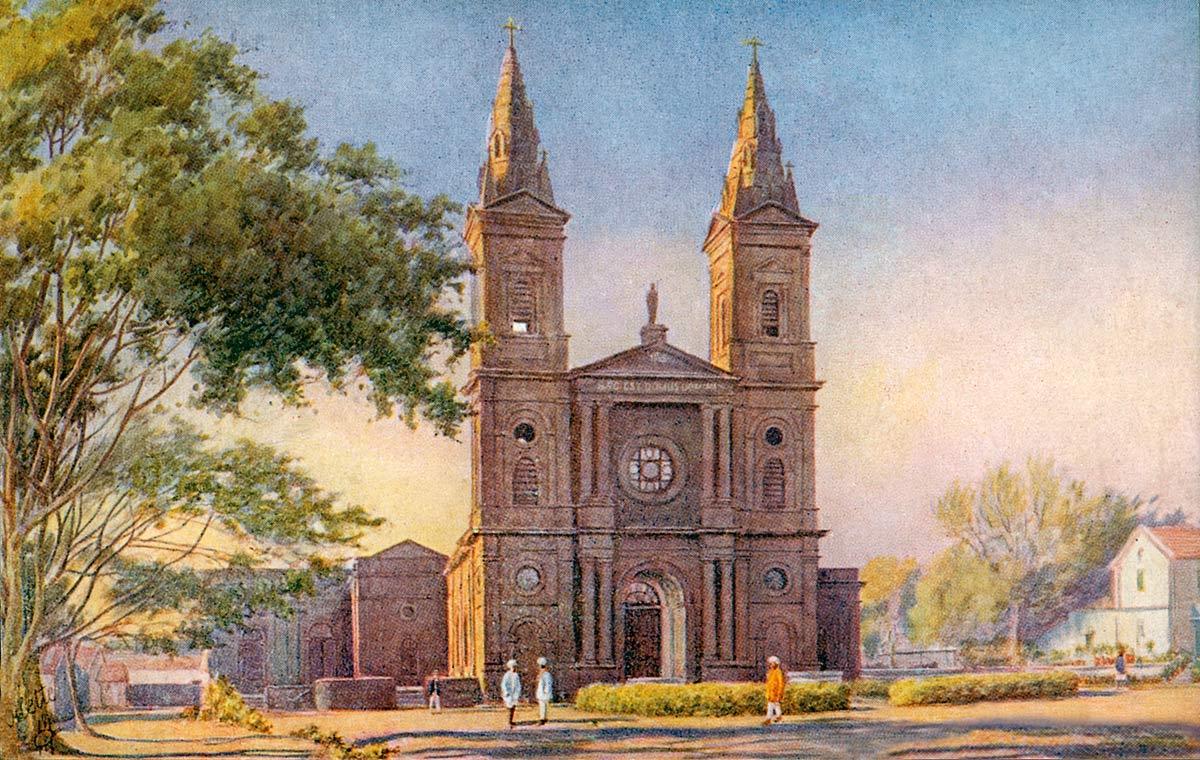 Bangalore. St. Patrick's Church.