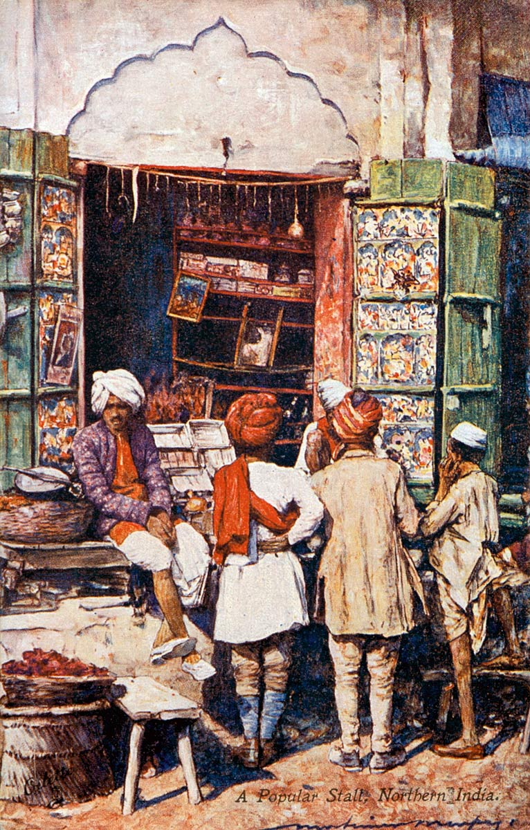 A Popular Stall: Northern India