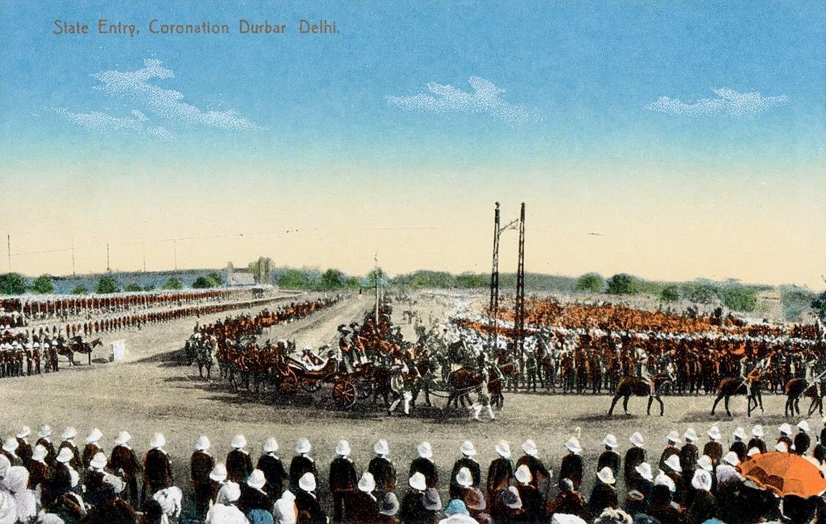 State Entry, Coronation Darbar Delhi