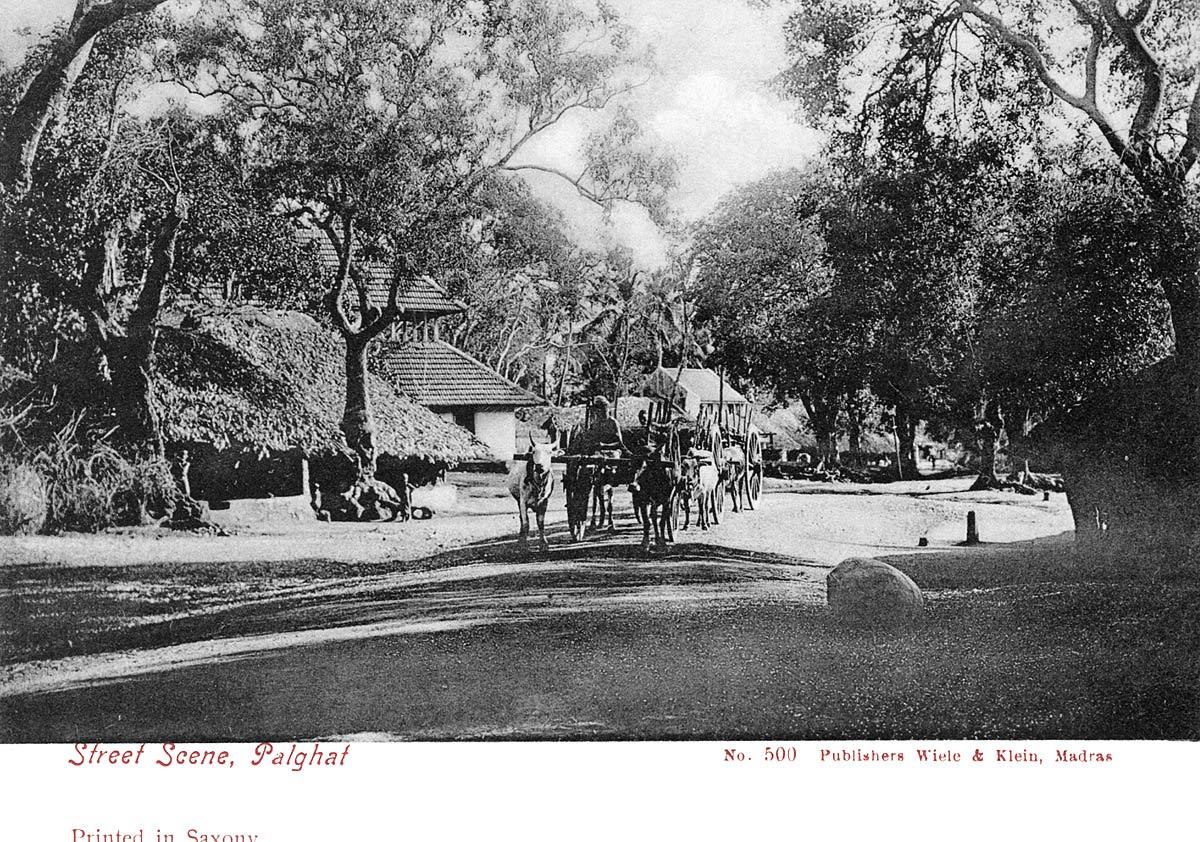 Street Scene, Palghat