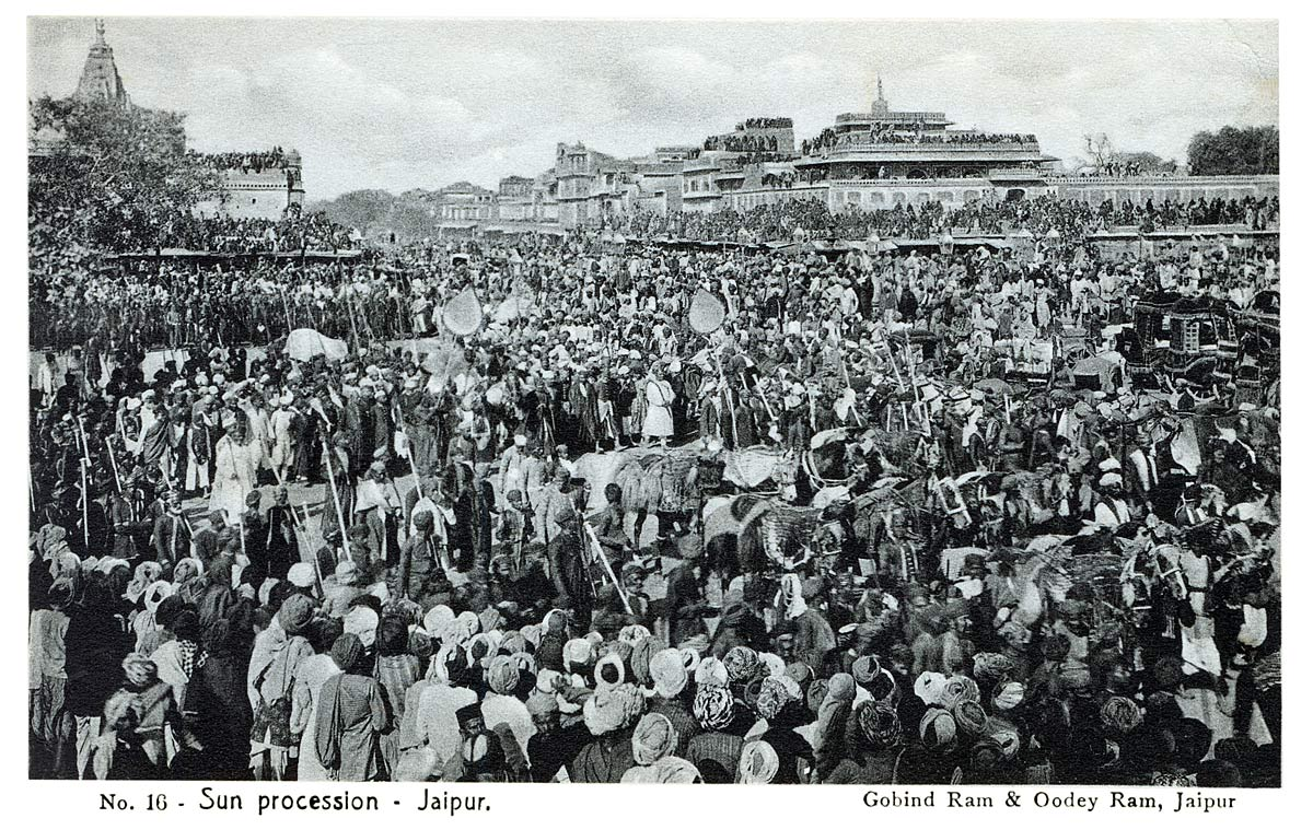 Sun Procession - Jaipur