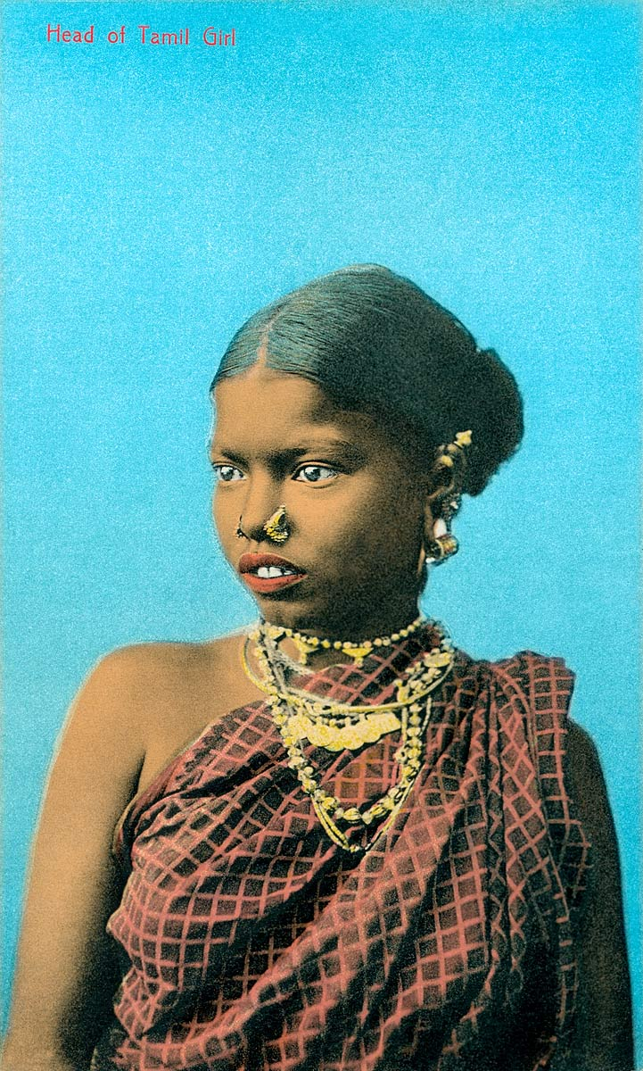 Head of Tamil Girl