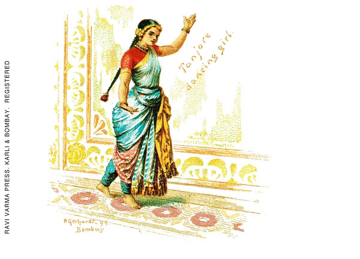 Tanjore dancing girl
