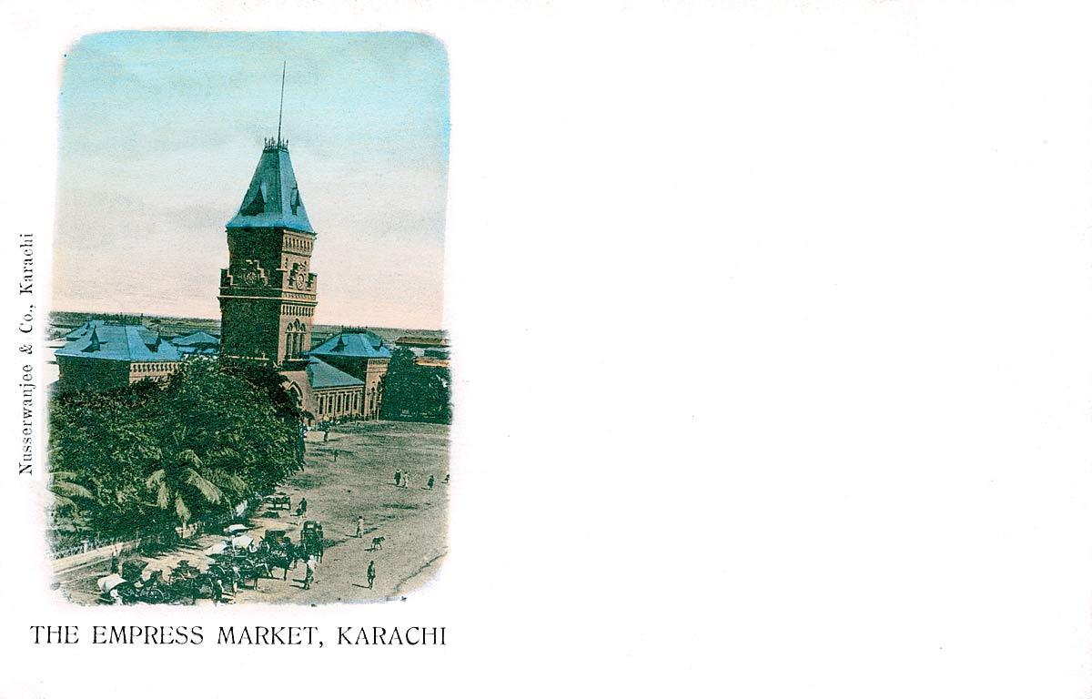 The Empress Market, Karachi