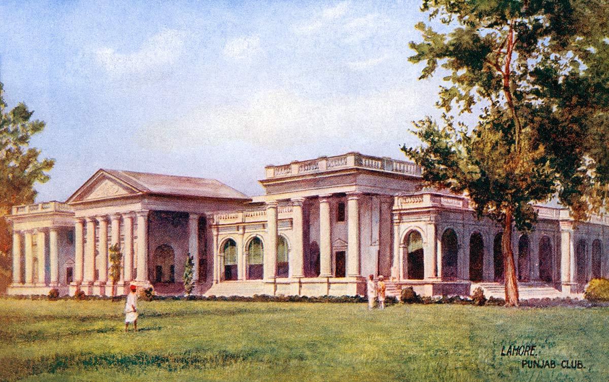 Lahore. Punjab Club.