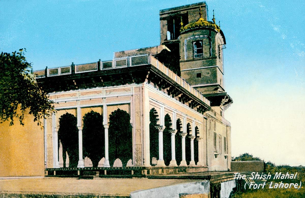 The Shish Mahal (Fort Lahore)
