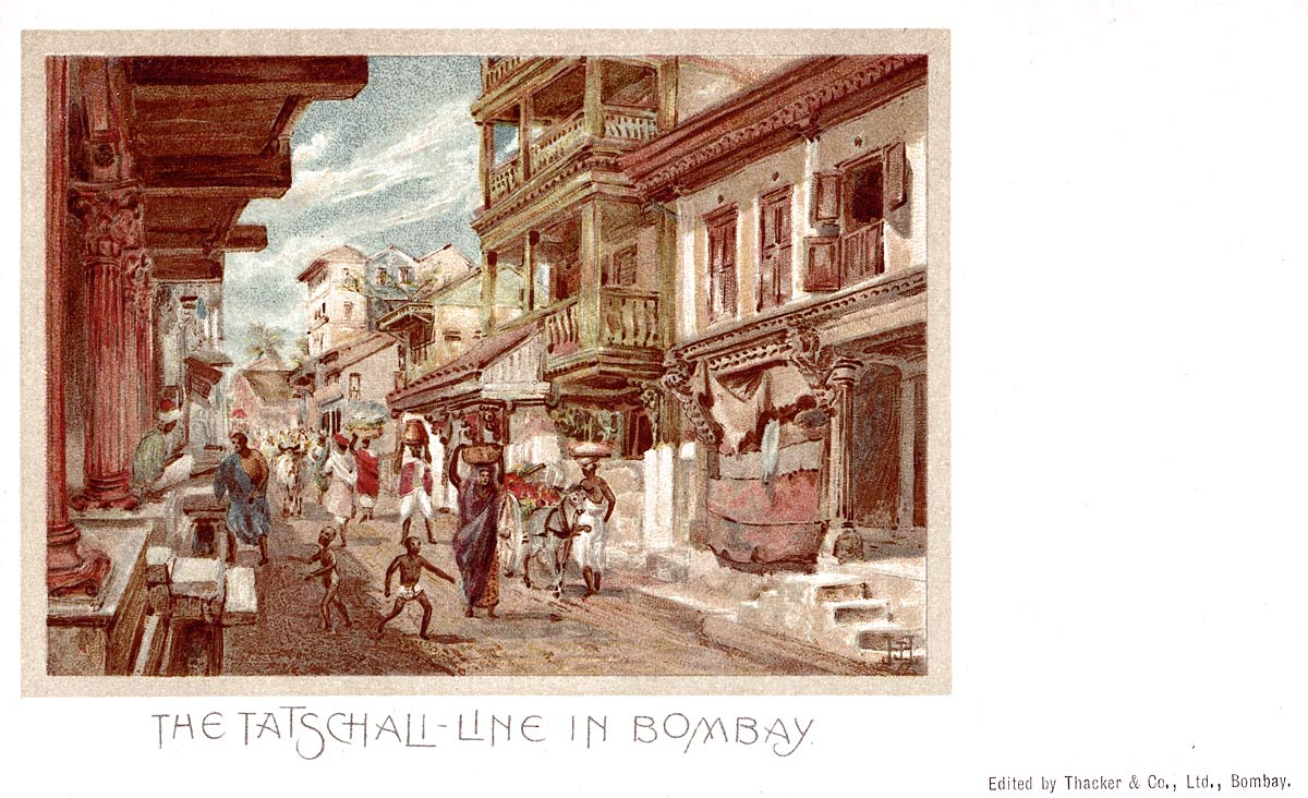 The Tatschali Line in Bombay