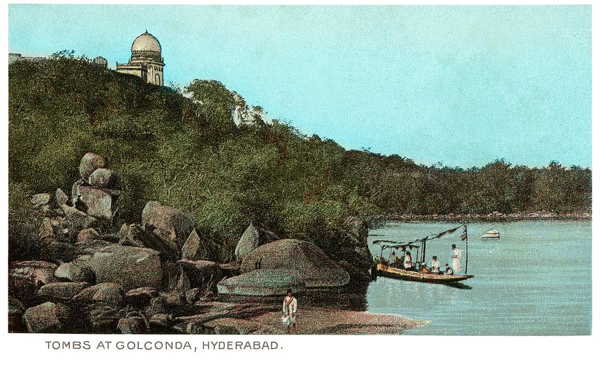 Tombs at Golconda, Hyderabad