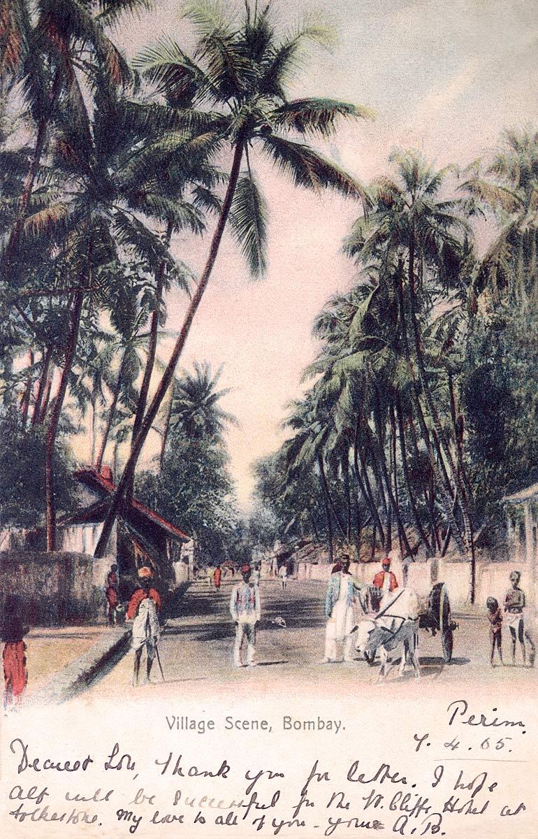 Village Scene, Bombay