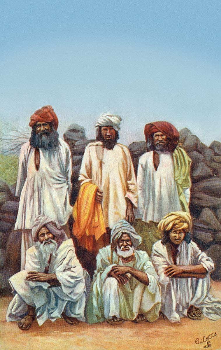 Group of Waziris