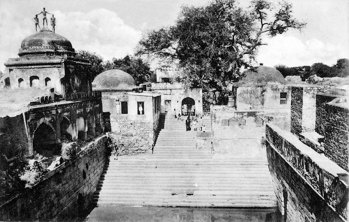 The Well at Sultan Nizamuddeen. Delhi.