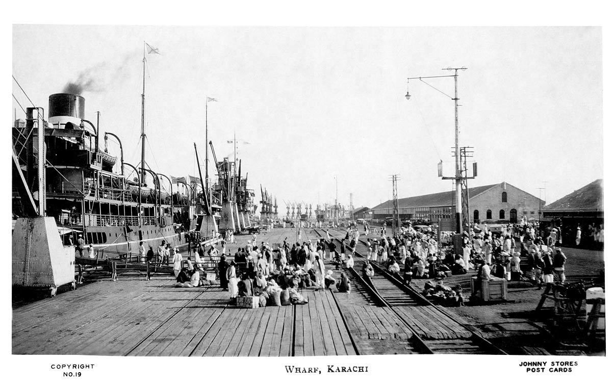 Wharf, Karachi