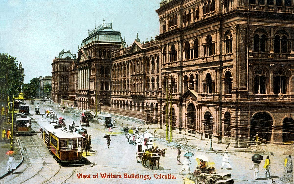 View of Writers Building, Calcutta