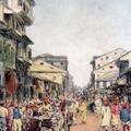 A Street Scene, Delhi