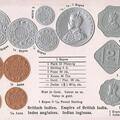 British Empire Coins Embossed
