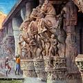 Cavalry of the Gods. Srirangam, near Trichinopoly