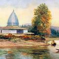 Temple Chenar Bagh