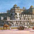 The Delhi Gate Fort, Agra.