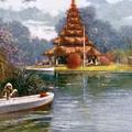 The Pagoda, Eden Gardens, Calcutta