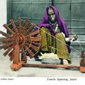 Female Spinning, Jaipur