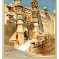 The highest gate in the Fort of Gwalior