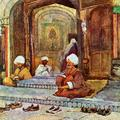 The Shoes of the Faithful at Hazrat Bal