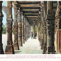 Hindu Colonnade of Pillars of Pure Hindu Architecture Belonging to the 9th of 10th Century, Delhi