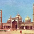 The Jumma Masjid, Delhi