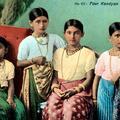 Four Kandyan Girls, Ceylon