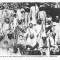 A Mad Mulla (Religious Fanatic) with his Followers, N.W. Frontier