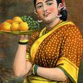 Madras Girl with fruit