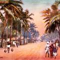 Madras, A Road Scene.