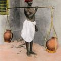 A Water Carrier, Madras
