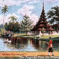 Calcutta. (Eden Gardens) The Pagoda from the Promenade