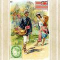 Postman, Mysore, British India