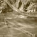 Rope Bridges, Jhelum River, (Kashmir)