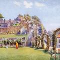 Simla. The Gardens & Terraces, Viceregal Lodge.