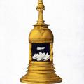 The tooth relic of Lord Buddha