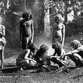 Veddahs. Aborigines of Ceylon