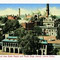 General View Shah Masjid and Ranjit Singh Samad, Lahore (India)