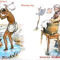 Washing Day Dhobi Washer Woman
